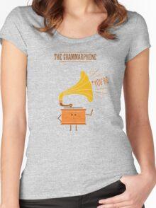 Grammarphone Women's Fitted Scoop T-Shirt