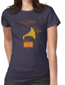 Grammarphone Womens Fitted T-Shirt