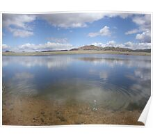 Lake View In Westcliffe Colorado Poster