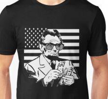 Abe Lincoln Merica design Unisex T-Shirt