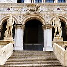 Staircase at the Doge&#x27;s Palace, Venice by artfulvistas