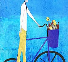 Man and Bicycle by jripleyfagence