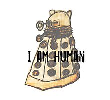 I Am Human Photographic Print