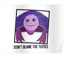 DON'T BLAME THE TURTLE Poster