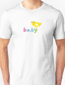 Baby and chick t shirt onsie  Unisex T-Shirt
