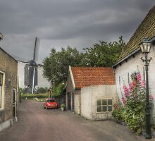 An old mill in modern times  by Thea 65