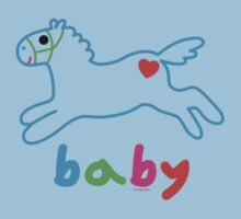 Baby pony t shirt & onsie Kids Clothes