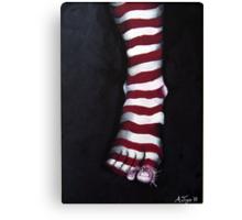 Stripy Steps Canvas Print