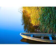 Lone boat Photographic Print