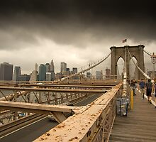 Thunderstorm Approaching Manhattan by Niek Broens