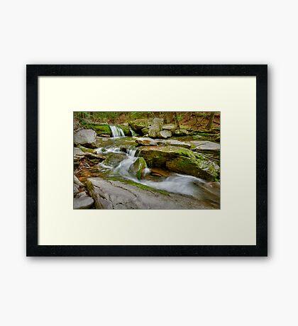 Hell's Hole Creek Framed Print