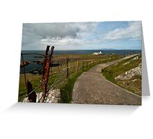 The Path to Neist Point  Greeting Card