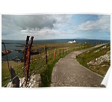 The Path to Neist Point  Poster