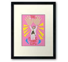 The flaming lips - big hands Framed Print