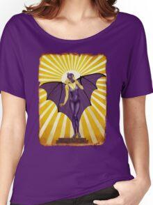 Golden Vintage Bat Elixir Women's Relaxed Fit T-Shirt