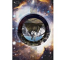 Some Things In A Circle Over A Pictures In Space Photographic Print
