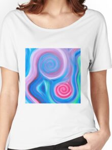 Spaced Out Energy Painting  Women's Relaxed Fit T-Shirt