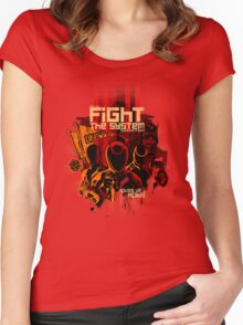 Fight the System Women's Fitted Scoop T-Shirt