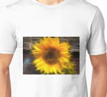 SHINY SUNFLOWER Unisex T-Shirt