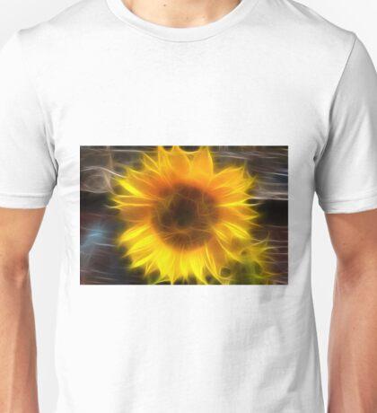 SHINY SUNFLOWER Unisex T-Shirt
