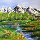 Mountain Pasture by Betty Burnitt