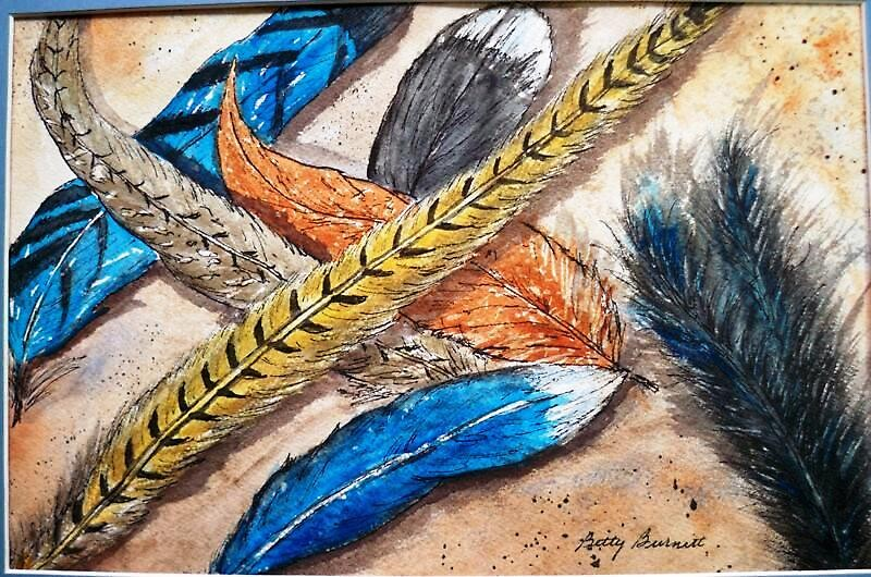 Fanciful Feathers by Betty Burnitt