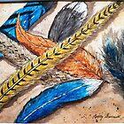 Fanciful Feathers by Betty Burnitt
