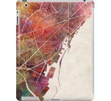 Barcelona map iPad Case/Skin
