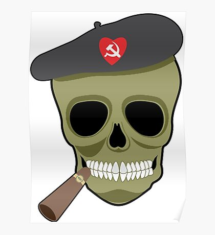 I love communism hammer and sickle funny Poster