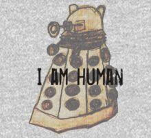 I Am Human One Piece - Long Sleeve