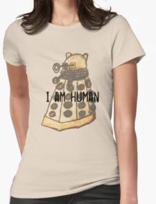 I Am Human Womens Fitted T-Shirt