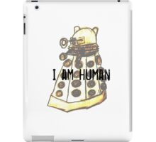 I Am Human iPad Case/Skin