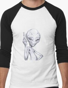 Paul - the alien Men's Baseball ¾ T-Shirt