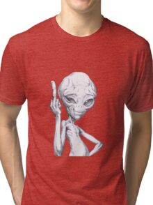 Paul - the alien Tri-blend T-Shirt