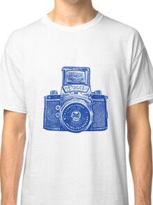 Giant East German Camera - Navy Blue Classic T-Shirt