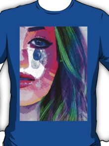Girl with the tear eyes T-Shirt