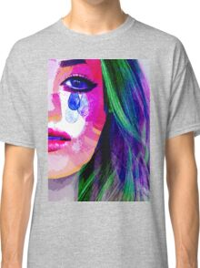 Girl with the tear eyes Classic T-Shirt