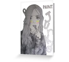 Paint Junkie Greeting Card