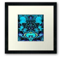Turquoise Splendor Framed Print