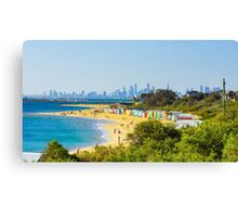 The Beauty of Brighton Beach - Melbourne, Victoria Canvas Print
