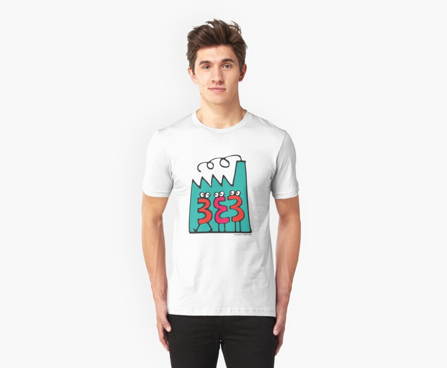 T-Shirt 38/85 (Workplace) by kukuxumusu by WEAR IT WITH PRIDE (ACON)