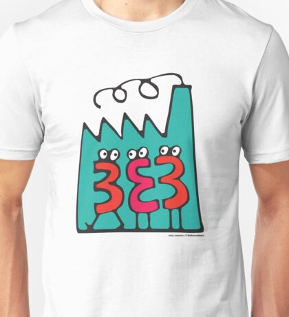 T-Shirt 38/85 (Workplace) by kukuxumusu Unisex T-Shirt