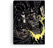 A Deluge of Plague and Stardust Canvas Print