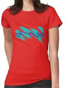 Jazz Solo Paper Cups Womens Fitted T-Shirt