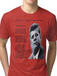 speech john F. Kennedy muse drones Tri-blend T-Shirt