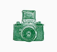 Giant East German Camera - Forest Green Unisex T-Shirt
