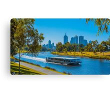 A Cruise Up the Yarra - Melbourne, Victoria Canvas Print