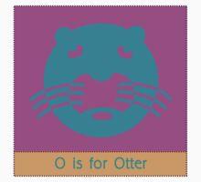 Otter Animal Alphabet by Zehda