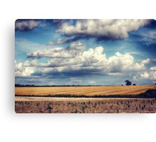 Clouds on a Saturday Canvas Print