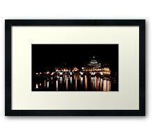 Ponte Sant'Angelo, Rome Framed Print